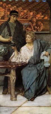 Лоуренс Альма-Тадема. Римские дегустаторы вина