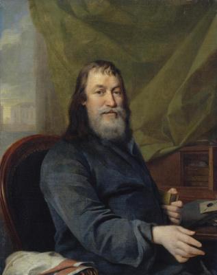 Dmitry Grigorievich Levitsky. Portrait of the merchant Ivan Kharitonovich Bilibin