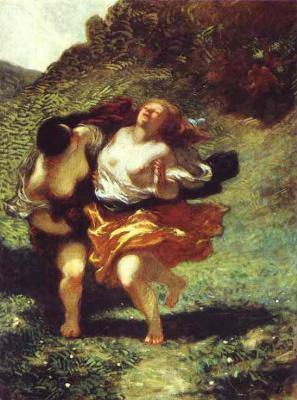 Honore Daumier. Women