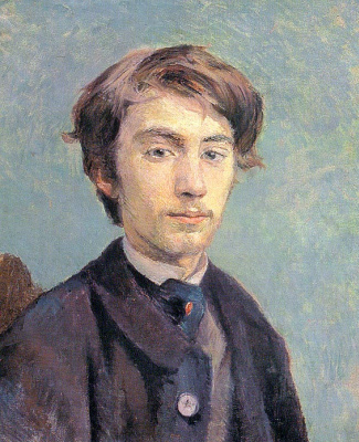 Henri de Toulouse-Lautrec. Portrait of the Artist Emile Bernard