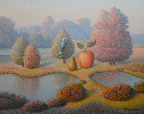 Evgeni (Eugene) Yakovlevich Gordiets (Gordian). Evening Fall