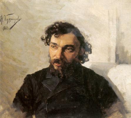 Николай Дмитриевич Кузнецов. Портрет художника Ивана Павловича Похитонова