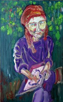 Мурад Халилов. Portrait Of Katya