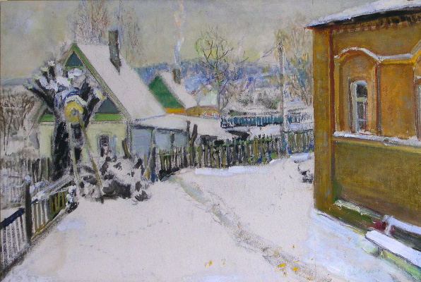 Vasily Fadeevich Demin. Winter