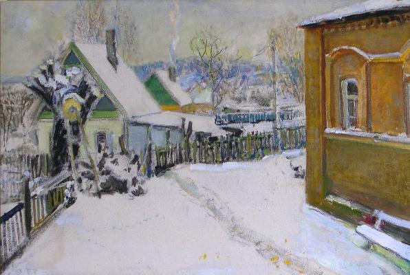 Vasily Fadeevich Demin. Winter