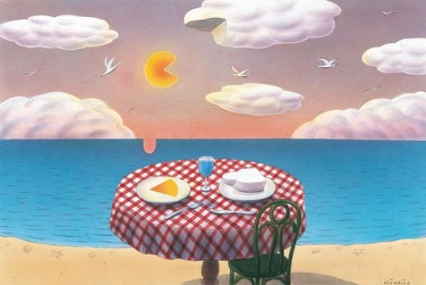 Гурбуз Доган Эксиоглу. Завтрак у моря
