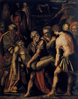 Giorgio Vasari. The Burial Of Christ