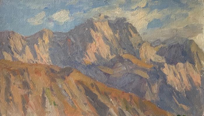 Oleg Alekseevich Dmitriev. Mountain peaks