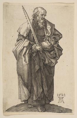 Albrecht Durer. The Apostle Simon