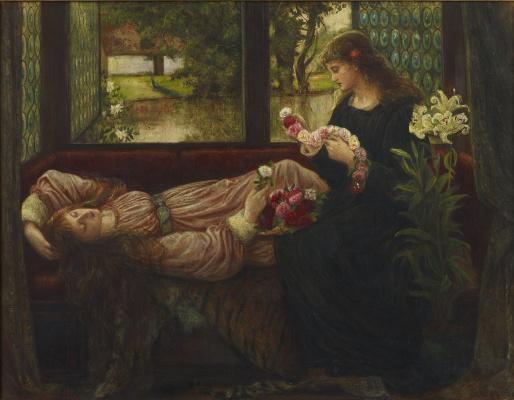 Мария Евфросина Спартали Стиллман. Wreath of roses