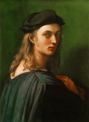 Raphael Sanzio. Portrait Of Bindo Altoviti