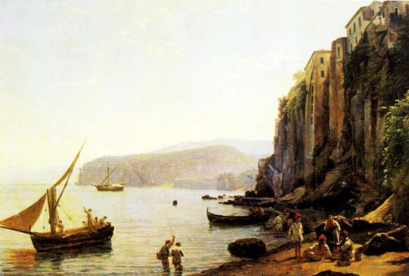 Sylvester Feodosievich Shchedrin. View of Sorrento near Naples