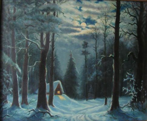 Анатолий Петрович Кондратенко. Домик в  лесу