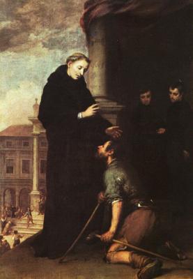 Бартоломе Эстебан Мурильо. Святой Томас