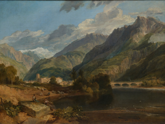 Joseph Mallord William Turner. Bonneville, Savoy, Mont Blanc
