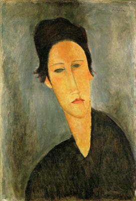 Amedeo Modigliani. Portrait of a woman (Anna Also)