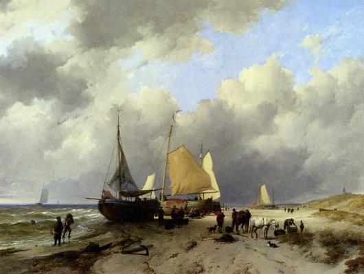 Cornelis van Haarlem. Painting