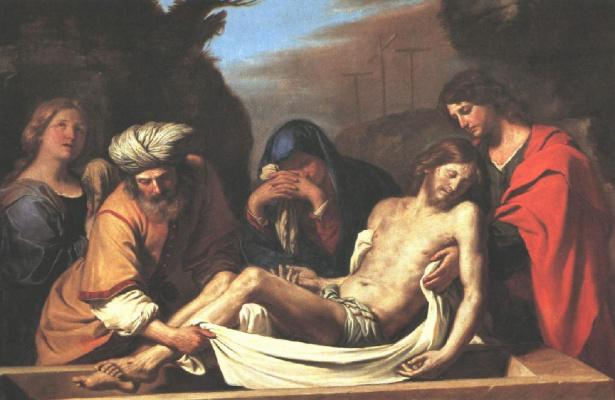 Giovanni Francesco Guercino. Entombment