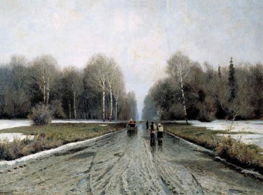 Ivan Ivanovich Endogurov. Early spring