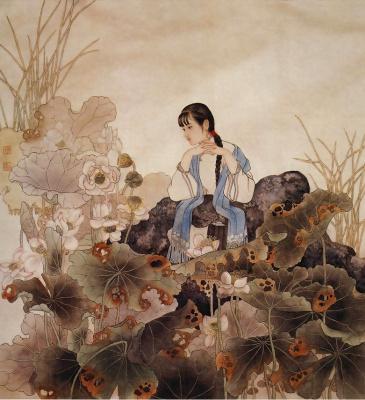 Пэн Лиан Сюй. Китаянка 31