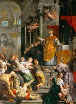 Peter Paul Rubens. The miracle of St. Ignatius Loyola