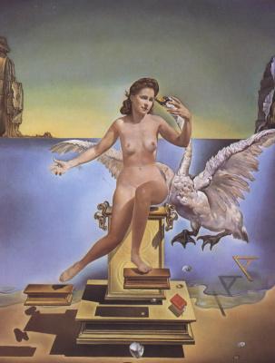 Salvador Dali. Atomic Leda