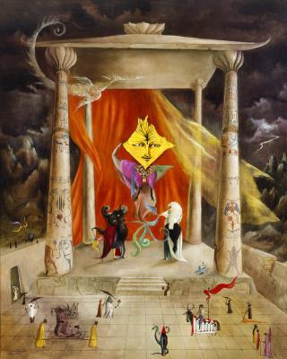 Leonora Carrington. The temple of peace
