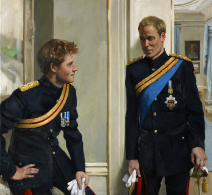 Nikki Phillips. Prince William, Duke of Cambridge; Prince Harry, Duke of Sussex