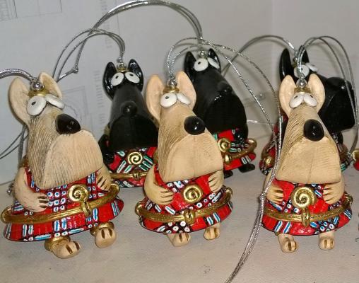 Ирина Александровна Лычагина. Bell Scotch Terrier