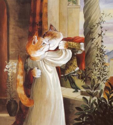 Сьюзан Герберт. Влюбленные коты