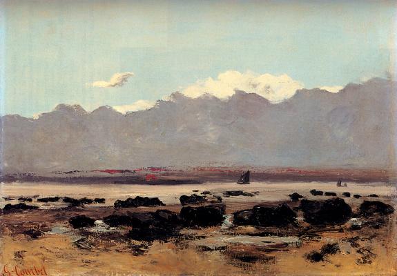 Gustave Courbet. Seascape near Trouville