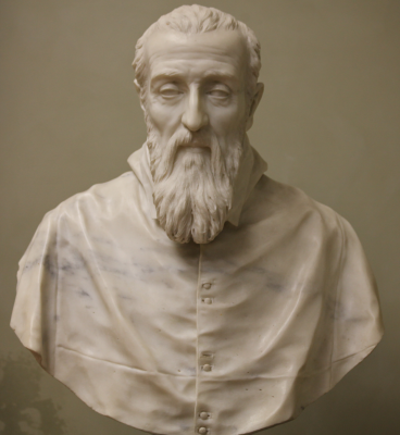 Джованни Лоренцо Бернини. Кардинал Агостино Валье
