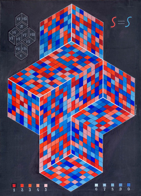 Alexander Fedorovich Pankin. Two irrational cubes