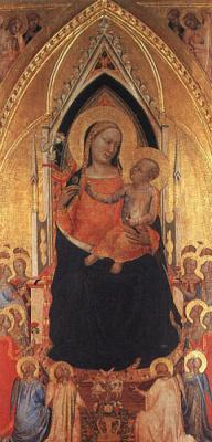 Бернардо Дадди. Богородица с младенцем