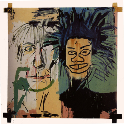 Jean-Michel Basquiat. Two heads