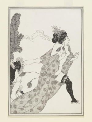 Aubrey Beardsley. Kinesia and Mirrina