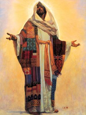 Томас Блэкшир. Разноцветная одежда Господа всех