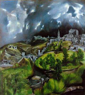 Эль Греко (Доменико Теотокопули). Вид Толедо
