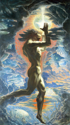 Jean Delville. Prometheus
