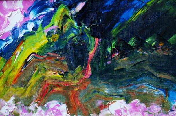 Alexander Ocher Kandinsky-DAE. The road through the pass