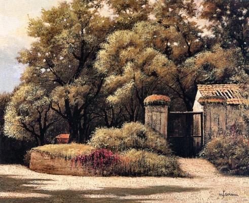 Марсель Фавро. Ворота в сад