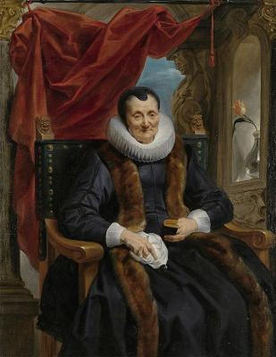 Jakob Jordaens. Portrait of Magdalena de Kuiper