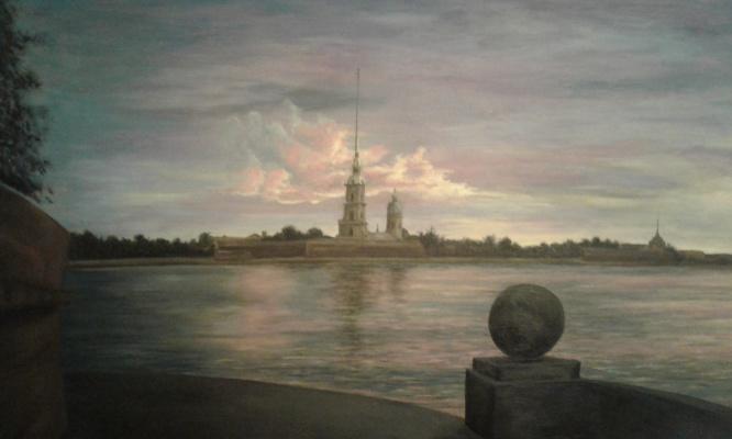 Koroleva Tatyana. Закат на Нeве