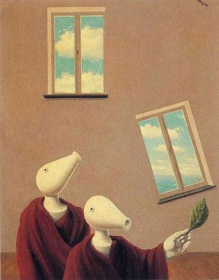 René Magritte. Natural meetings