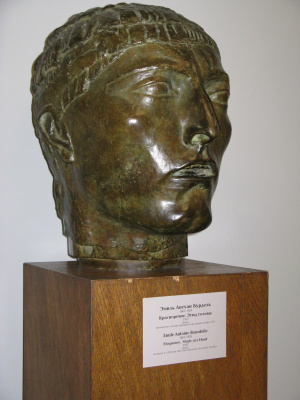 Emil Antoine Bourdelle. Eloquence. Sketch of the head