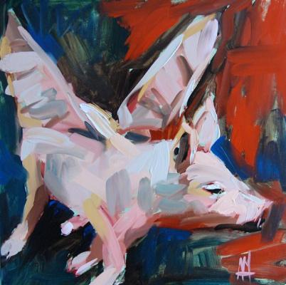 Angela Moulton. Flying pig