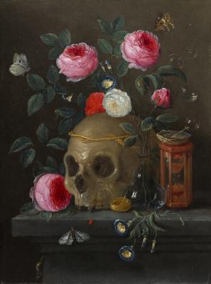 Jan van Kessel Elder. Vanitas