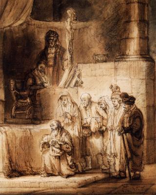 Самюэл ван Хогстратен. Приход в храм