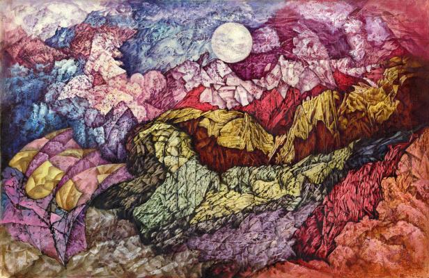 Igor Grigorievich Pertsev. Foggy Sunset