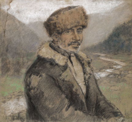 Boris Vasilyevich Smirnov. Portrait